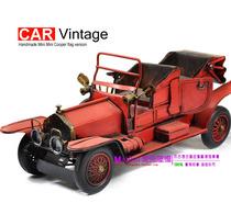 劳斯莱斯 红色鬼魅 老爷车 汽车 模型 玩具 车模 铁皮 铁艺 摆设 价格:225.00