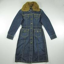 *专柜正品* Lee 376-6969修身长款女装牛仔风衣外套长袖牛仔裙 价格:588.00
