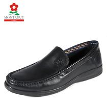 梦特娇男鞋专柜正品 真皮日常休闲鞋商务鞋套脚懒人皮鞋11177397 价格:277.00