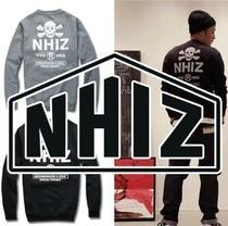 2013 余文乐 NBHD X IZZUE NHIZ潮男圆领套头薄款卫衣男士外套 价格:45.00