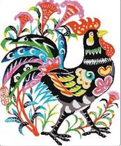 十格格DMC 正品法国十字绣套件 动物 BDW0092--高傲的花公鸡 价格:168.00