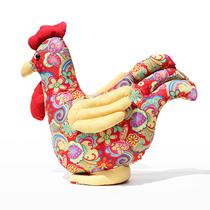 布艺 铁公鸡 创意 生肖 毛绒玩具公鸡 生日礼物 可爱公鸡 娃娃 价格:39.80
