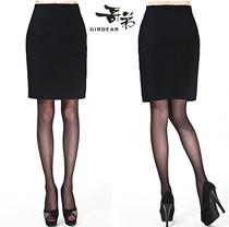2013秋冬新款 女式中裙 哥弟正品 女士职业工装半身裙 黑色短裙子 价格:226.00