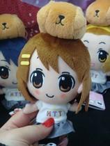 日本正版 轻音少女K-ON &水獭君 小毛绒公仔玩偶 价格:85.00