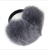 仿狐狸毛超大耳包 耳套 耳暖 毛茸茸 后戴 价格:10.00