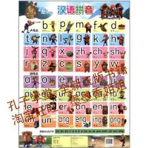 汉语拼音/熊出没学前认知挂图/北京华图宏阳图书有限/正版书籍 价格:7.70
