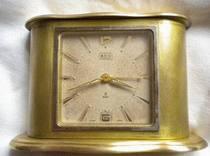 """罕见的""""豪利时""""8天古董闹表(15钻、上一次弦走192小时) 价格:1200.00"""
