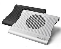超频3长江一号飓风 手提电脑笔记本散热器底座 笔记本14寸铝金属 价格:99.00
