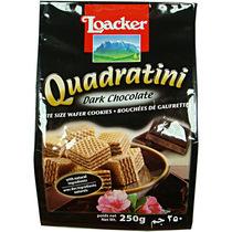 【天猫超市】意大利进口零食品 莱家黑巧克力味威化饼干 250g 价格:29.90
