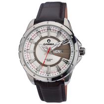 卡斯曼正品手表 男士真皮带 简约三针防水运动男表 ST-8102-SL8 价格:258.00