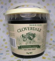 澳洲进口CLOVERDALE 纯净桉树蜂蜜 1000克 价格:64.00