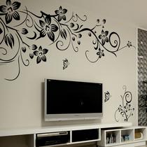 墙贴客厅电视墙 电视背景墙 墙贴纸卧室浪漫 墙壁贴纸 伸展 特价 价格:9.52