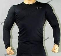 耐克PRO 高端无缝技术 篮球 健身田径 运动紧身衣 长袖T恤 男 价格:44.00