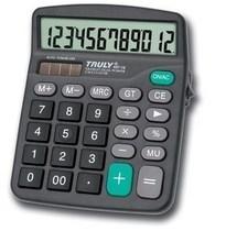 正品 TRULY 信利 837-12 计算器 带开关 双重电源计算机 价格:27.00