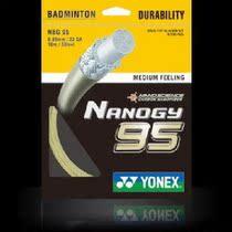 专柜正品 尤尼克斯 YONEX/YY  NANOGY-95 羽毛球线 nbg95 CH版 价格:38.00
