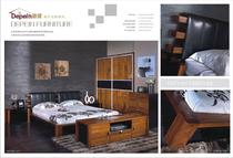 欧式家具迪派实木床简约现代时尚双人床1.5米床1.8米床6A001 价格:3358.00