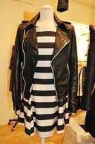 2013新款女欧洲站韩国代购真皮羊皮 黑色小羊皮超爆皮衣 私藏款! 价格:2290.00