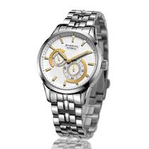 正品行货 罗西尼手表雅尊系列双子星机械男表 5515W06B/5515W01A 价格:1600.80