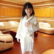 特价可爱儿童纯棉100%毛巾浴袍/卡通兔耳连帽男女童游泳温泉浴衣 价格:49.00