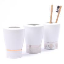 「欧洲卫浴品牌」SPIRELLA 瑞士瓷Opera 创意陶瓷 牙刷架 牙刷杯 价格:43.00