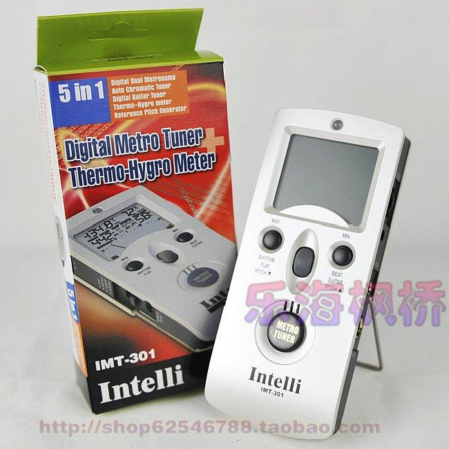 【原装正品】韩国Intelli原厂 IMT 301五合一节拍器/校音器/定音 价格:255.00