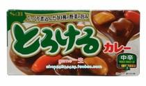日本咖喱块 日本进口SB咖喱块200g 中辛 微辣 品质保证  假一罚万 价格:20.00