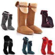 清仓正品澳洲EO E&O雪地靴 过膝靴真牛皮靴保暖靴 超高筒女靴子 价格:185.00