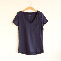 夏装新款 欧美风 女装 V领 口袋 棉质 打底衫 短袖 女T恤 价格:19.00