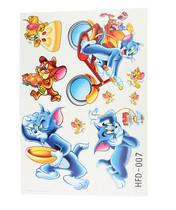 新奇特 义乌小商品HFD-007香味贴 猫和老鼠墙贴地摊货源批发 价格:1.12
