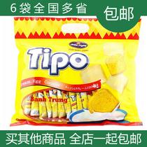 假一罚十休闲零食 进口食品TIPO越南面包干300g 满6包多省包快递 价格:10.90