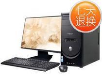 18.5寸家用台式机电脑 神舟新瑞 E40D2 酷睿i3 3220/4G DDR3/500G 价格:2669.00
