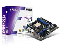 库存微星785GM-E65 AM3 HMDI 780G主板 独立显存 全固态 超880 价格:225.00