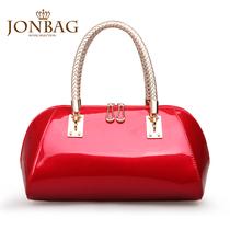 简佰格 新娘包2013新款欧美包包潮流女士结婚包手提包红色女包 价格:219.00