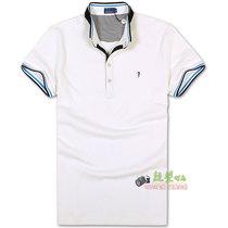 2013夏季TRUSSARDI楚萨迪 特色小立领 休闲男士翻领短袖T恤 三色 价格:110.00