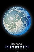 日本进口拼图 yanoman 宇宙/天体系列 - 满月 1000片 夜光 价格:328.00