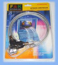 ★付邮试用★F&K电脑锁/笔记本锁/笔记本电脑锁钥匙型1米先看说明 价格:0.10