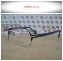 【仁和眼镜】ROMEOGIGLI/罗密欧吉利纯钛休闲眼镜架 RG8048 C3 价格:1180.00