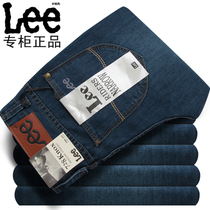 Lee男士牛仔裤 专柜正品代购直筒牛仔裤韩版修身直筒男士牛仔裤潮 价格:99.00