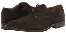 美国代购正品包邮Calvin Klein 男鞋 时尚反绒皮系带牛津商务皮鞋 价格:1769.00