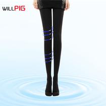 1条包邮瘦腿袜正品燃脂秋季薄款连裤袜680D美腿塑形袜防勾丝袜 价格:29.00