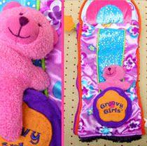 外贸原单美国正品Manhattan Toy Groovy Girls粉红芭比风格杂物袋 价格:25.00