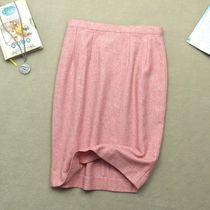 满百包邮出口原单正品剪标秋冬羊毛OL中裙半身西服裙包臀裙铅笔裙 价格:45.00