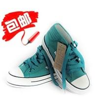 2013工泰经典款休闲鞋 板鞋球鞋韩版潮 松糕厚底高帮帆布鞋女鞋 价格:34.80