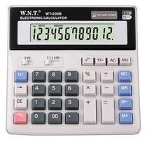 特价批发原装正品万能通WT-200ML桌面计算器万能通计算器WT-200ML 价格:18.00