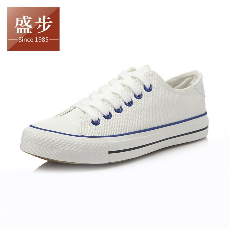 经典夏季低帮布鞋 韩版纯色帆布鞋女 简约大方平跟单鞋休闲鞋板鞋 价格:38.00