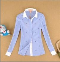 艾格ES专柜正品代购2013秋装款小熊维尼长袖衬衫衬衣拉夏贝尔依恋 价格:108.00