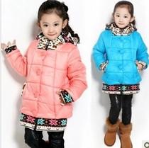 女童棉袄 中大童棉衣儿童冬季棉服小朋友加厚衣服小女孩外套大衣 价格:109.00