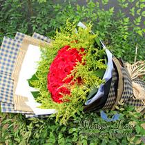 瓦房店普兰海城东港市鲜花店送同城速递36朵红玫瑰 价格:249.00