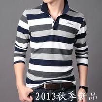 2013与狼秋装新款男装共舞 男士修身长袖T恤杰克琼斯韩版 男t恤 价格:108.00