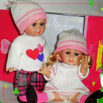 正版露娜娃娃 婚庆娃娃 包邮特价洋娃娃 男女对娃 女孩最爱礼物 价格:67.62